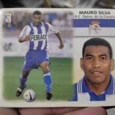 Cromos de Fútbol: MAURO SILVA DEPORTIVO CORUÑA ED ESTE CROMO SIN PEGAR NUNCA LIGA 1999 99 2000 00. Lote 289744643