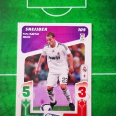 Cromos de Fútbol: CROMO FUTBOL CARD 08 09 PLAY LIGA PANINI 2008 2009 REAL MADRID 105 SNEIJDER. Lote 289766663