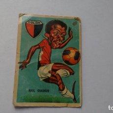 Cromos de Fútbol: CROMO DE FUTBOL -RAUL CARDOZO -. Lote 289829703