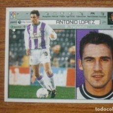 Cromos de Fútbol: CROMO LIGA ESTE 01 02 ANTONIO LOPEZ (VALLADOLID) - NUNCA PEGADO - 2001 2002. Lote 289864078