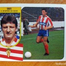 Cromos de Fútbol: TATI. SPORTING DE GIJÓN. SIN PEGAR. EDICIONES ESTE 1991/92. 91/92. Lote 289902323