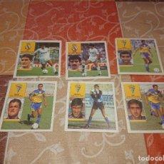 Cromos de Fútbol: ED. ESTE LIGA 92/93 BAJA LOTE DE 6 CROMOS SIN PEGAR. Lote 290103513
