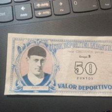 Cromos de Fútbol: ANTON OVIEDO FICHA DEPORTIVA INFANTIL 1943 1944 LIGA CROMO FUTBOL 43 44 - 50 PUNTOS. Lote 290103658