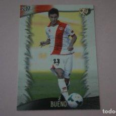 Cromos de Fútbol: TRADING CARD DE FUTBOL BUENO DEL RAYO VALLECANO Nº 207 LIGA MUNDICROMO 2013-2014/13-14. Lote 290103688