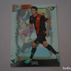 Cromos de Fútbol: TRADING CARD DE FUTBOL SAUL DEL RAYO VALLECANO Nº 205 LIGA MUNDICROMO 2013-2014/13-14. Lote 290103768