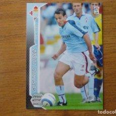 Cromos de Fútbol: MEGACRACKS 2005 2006 PANINI Nº 121 GUSTAVO LOPEZ (CELTA VIGO) LETRAS BLANCAS - CROMO LIGA 05 06. Lote 290103928