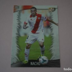 Cromos de Fútbol: TRADING CARD DE FUTBOL NACHO DEL RAYO VALLECANO Nº 201 LIGA MUNDICROMO 2013-2014/13-14. Lote 290104043