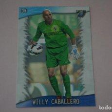 Cromos de Fútbol: TRADING CARD DE FUTBOL WILLY CABALLERO DEL MALAGA C.F. Nº 139 LIGA MUNDICROMO 2013-2014/13-14. Lote 290105838