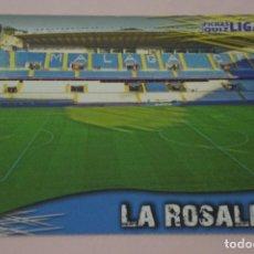 Cromos de Fútbol: TRADING CARD DE FUTBOL ESTADIO LA ROSALEDA DEL MALAGA C.F. Nº 137 LIGA MUNDICROMO 2013-2014/13-14. Lote 290105978
