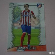 Cromos de Fútbol: TRADING CARD DE FUTBOL LEO BAPTISTAO DEL ATLETICO DE MADRID Nº 73 LIGA MUNDICROMO 2013-2014/13-14. Lote 290106198