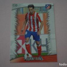 Cromos de Fútbol: TRADING CARD DE FUTBOL JUANFRAN DEL ATLETICO DE MADRID Nº 63 LIGA MUNDICROMO 2013-2014/13-14. Lote 290106288