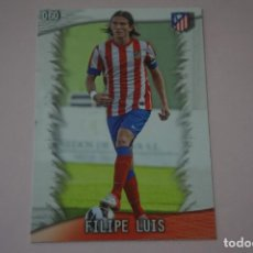 Cromos de Fútbol: TRADING CARD DE FUTBOL FILIPE LUIS DEL ATLETICO DE MADRID Nº 60 LIGA MUNDICROMO 2013-2014/13-14. Lote 290106383