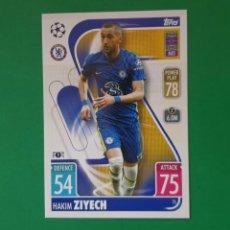 Cromos de Fútbol: 75 ZIYECH - CHELSEA FC - TOPPS MATCH ATTAX 21/22 (NUEVO). Lote 290146758