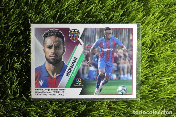 Nº15 HERNANI LEVANTE UD LIGA ESTE 19 20 (Coleccionismo Deportivo - Álbumes y Cromos de Deportes - Cromos de Fútbol)