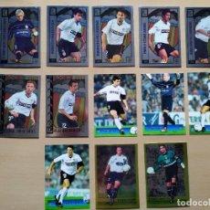 Cromos de Fútbol: LOTE 13 CROMOS VALENCIA EQUIPO COMPLETO MARCHENA ROOKIE TOP LIGA 2001 2002 01 02 MUNDICROMO. Lote 290625413