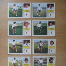 Cromos de Fútbol: R ZARAGOZA LOTE 9 CROMOS LIGA 1973-1974 ,73-74 FHER NUNCA PEGADO. Lote 290697498