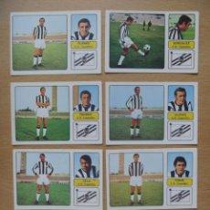 Cromos de Fútbol: CD CASTELLON LOTE 6 CROMOS LIGA 1973-1974 ,73-74 FHER NUNCA PEGADO. Lote 290697608