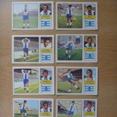 Cromos de Fútbol: ESPAÑOL RCD LOTE 10 CROMOS LIGA 1973-1974 ,73-74 FHER NUNCA PEGADO. Lote 290697908