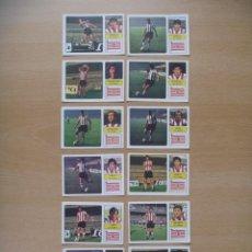 Cromos de Fútbol: ATHELTIC BILBAO LOTE 13 CROMOS LIGA 1973-1974 ,73-74 FHER NUNCA PEGADO. Lote 290698358
