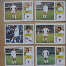 Cromos de Fútbol: VALENCIA CF LOTE 8 CROMOS LIGA 1973-1974 ,73-74 FHER NUNCA PEGADO. Lote 290698708