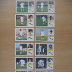 Cromos de Fútbol: REAL MADRID LOTE 13 CROMOS LIGA 1973-1974 ,73-74 FHER NUNCA PEGADO. Lote 290698948