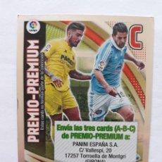 Cromos de Fútbol: CARD PREMIO PREMIUM C ADRENALYN 2015 - 2016. Lote 292289958