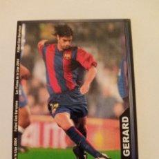 Cromos de Fútbol: 146 GERARD F.C. BARCELONA LAS FICHAS DE LA LIGA 03 04 2003 2004 MUNDICROMO. Lote 292618868