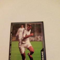 Cromos de Fútbol: 17 ZIDANE REAL MADRID LAS FICHAS DE LA LIGA 03 04 2003 2004 MUNDICROMO. Lote 292946128