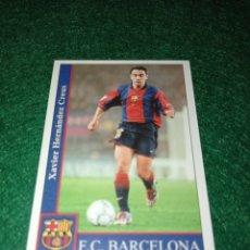 Cromos de Futebol: XAVI FC BARCELONA MUNDICROMOS 2002 N°72. Lote 292963138