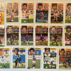 Cromos de Fútbol: LOTE 17 CROMOS LIGA ESTE 90 91 1990 1991 MADRID BARCELONA FICHAJES ETC. Lote 293183373