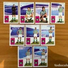 Cromos de Fútbol: LOTE 9 CROMOS REAL BETIS 74-75 FHER RECUPERADOS. Lote 293282633