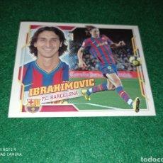 Cromos de Futebol: IBRAHIMOVIC FC BARCELONA N°15A BAJA EDICIONES ESTE 2010 2011 NUEVO. Lote 293314743