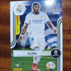 Cromos de Futebol: ALABA 450 REAL MADRID NUEVO FICHAJE SEGUNDA 2 EDICIÓN MEGACRACKS 2021/22 21-22. Lote 293483108