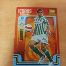 Cromos de Futebol: JUANITO BETIS ICONOS DE LALIGA 421 MEGACRACKS 2021/22 21-22. Lote 293501683