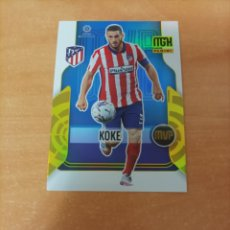 Cromos de Futebol: KOKE 371 ATLÉTICO DE MADRID MVP MEGACRACKS 2021/22 21-22. Lote 293517483