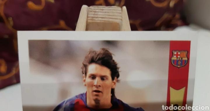 Cromos de Fútbol: MESSI 2005-2006 (2° AÑO ROOKIE) MUNDICROMO. - Foto 2 - 293543838