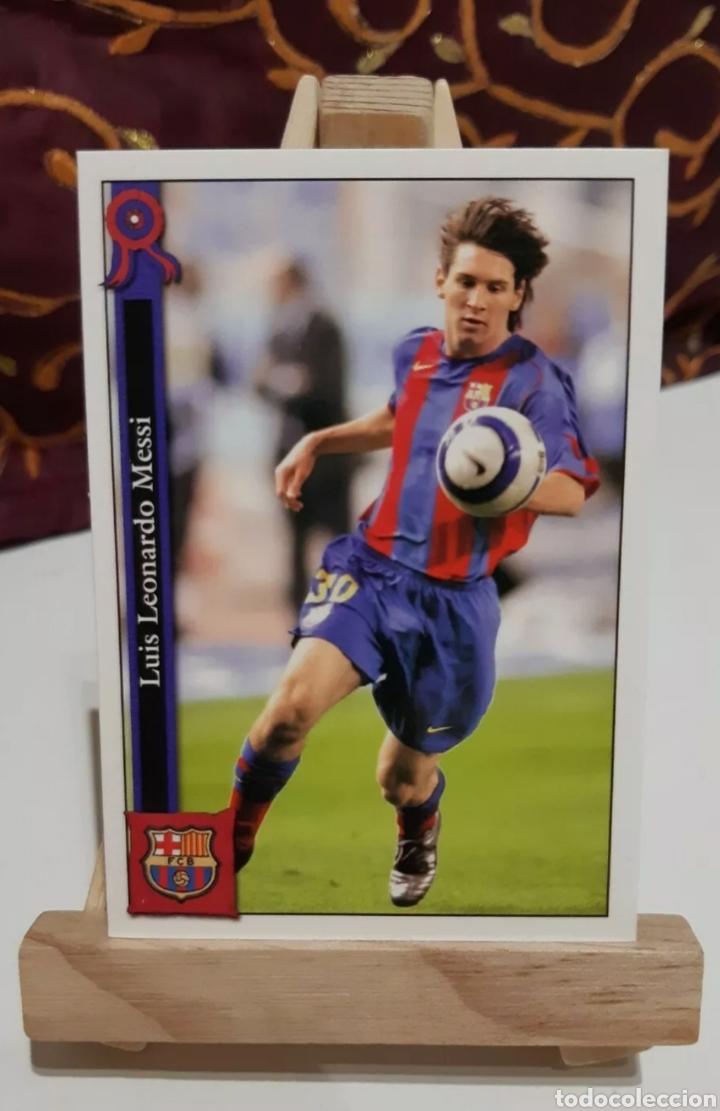 MESSI 2005-2006 (2° AÑO ROOKIE) MUNDICROMO. (Coleccionismo Deportivo - Álbumes y Cromos de Deportes - Cromos de Fútbol)