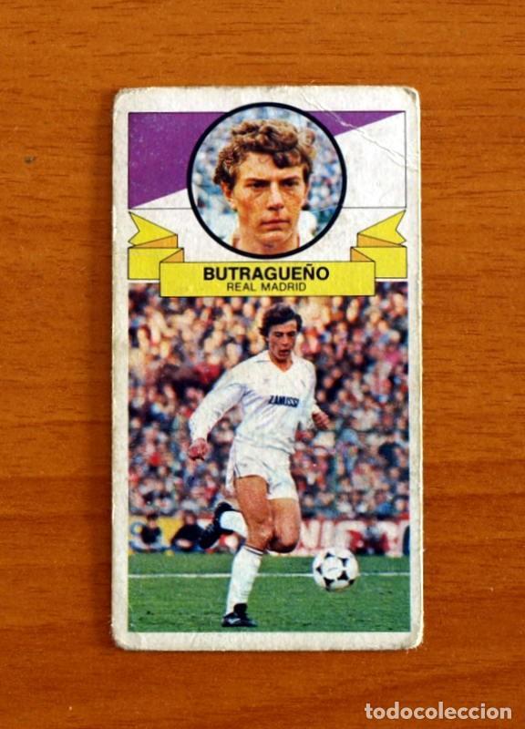 REAL MADRID - BUTRAGUEÑO - EDICIONES ESTE 1985-1986, 85-86 - NUNCA PEGADO, LEER EN INTERIOR (Coleccionismo Deportivo - Álbumes y Cromos de Deportes - Cromos de Fútbol)