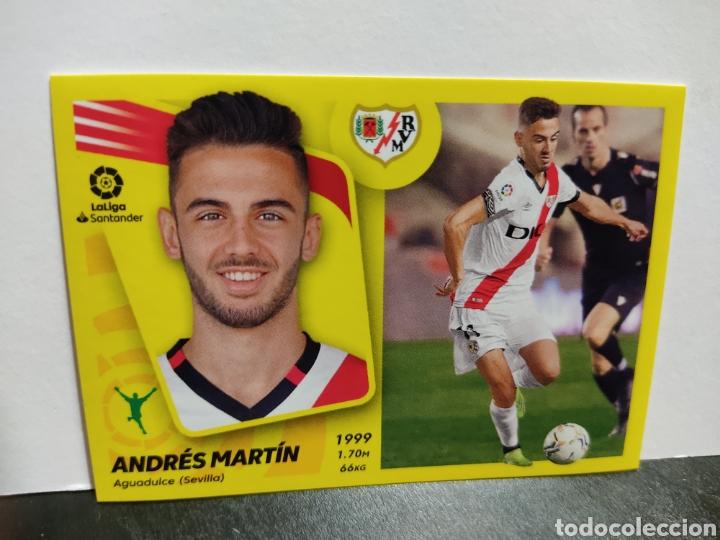 ANDRÉS MARTIN RAYO VALLECANO LIGA PANINI 21 22 (Coleccionismo Deportivo - Álbumes y Cromos de Deportes - Cromos de Fútbol)