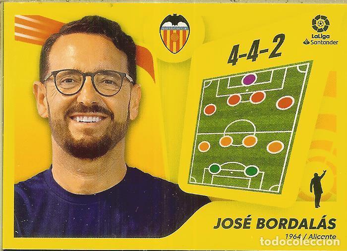 CROMO ESTE PANINI 2021 - 22 (21 22) - Nº 2 - JOSÉ BORDALÁS - VALENCIA (Coleccionismo Deportivo - Álbumes y Cromos de Deportes - Cromos de Fútbol)