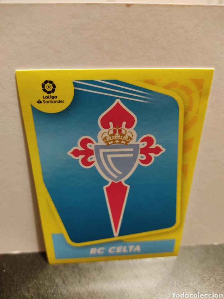 ESCUDO CELTA LIGA PANINI 21 22 (Coleccionismo Deportivo - Álbumes y Cromos de Deportes - Cromos de Fútbol)