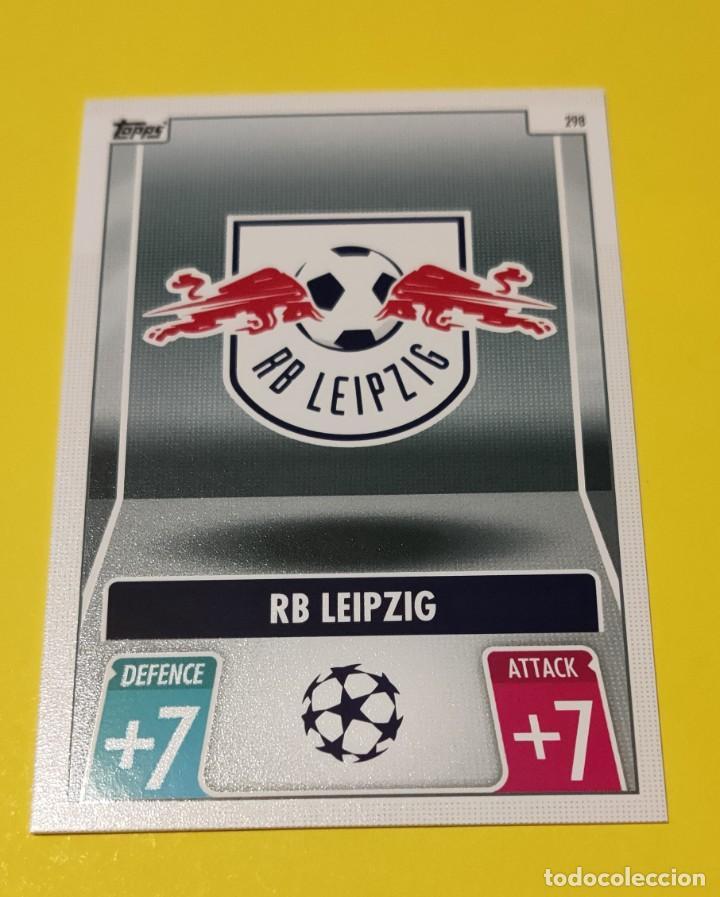 ESCUDO DEL LEIPZIG. TOPPS MATCH ATTAX 2022 (Coleccionismo Deportivo - Álbumes y Cromos de Deportes - Cromos de Fútbol)