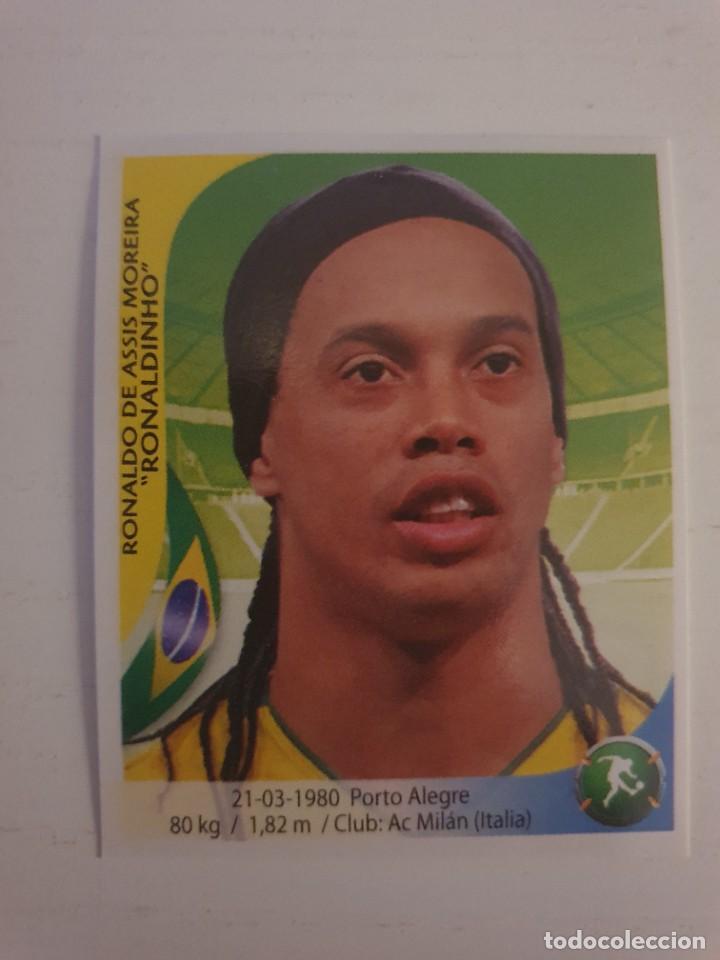 FIFA WORLD CUP 2010 SOUTH AFRICA NAVARRETE RONALDINHO 351 BRASIL ALBUM MUNDIAL SUDÁFRICA FÚTBOL (Coleccionismo Deportivo - Álbumes y Cromos de Deportes - Cromos de Fútbol)
