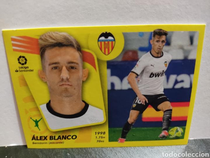 ALEX BLANCO VALENCIA LIGA PANINI 21 22 (Coleccionismo Deportivo - Álbumes y Cromos de Deportes - Cromos de Fútbol)