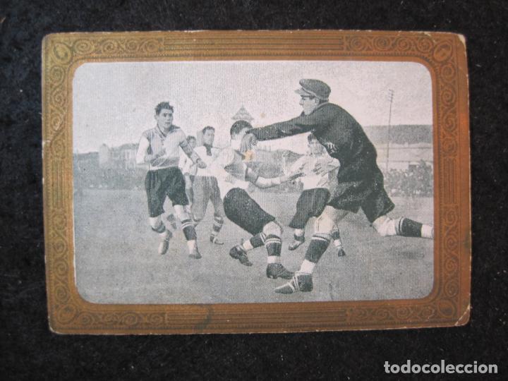 EUROPA VS SABADELL-BORDOY-CROMO DE FUTBOL-CHOCOLATE MUNDIAL-VER FOTOS-(84.965) (Coleccionismo Deportivo - Álbumes y Cromos de Deportes - Cromos de Fútbol)