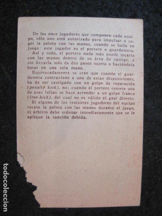 Cromos de Fútbol: TRAVIESO-ATHLETIC CLUB DE BILBAO-CROMO DE FUTBOL-CHOCOLATE-VER FOTOS-(84.966) - Foto 3 - 293668638
