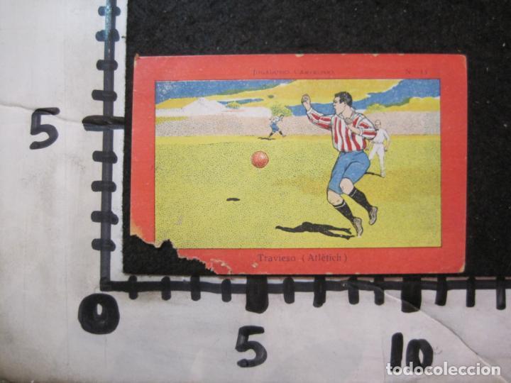 Cromos de Fútbol: TRAVIESO-ATHLETIC CLUB DE BILBAO-CROMO DE FUTBOL-CHOCOLATE-VER FOTOS-(84.966) - Foto 4 - 293668638