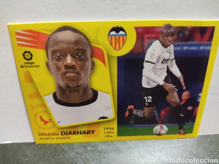 DIAKHABY VALENCIA LIGA PANINI 21 22 (Coleccionismo Deportivo - Álbumes y Cromos de Deportes - Cromos de Fútbol)