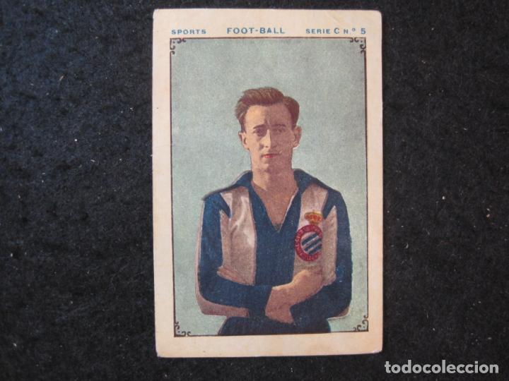 ENRIQUE MAIRLOT-RCD ESPAÑOL-CROMO DE FUTBOL-CHOCOLATE JUNCOSA-VER FOTOS-(84.968) (Coleccionismo Deportivo - Álbumes y Cromos de Deportes - Cromos de Fútbol)