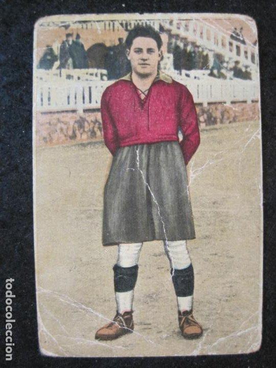 TRALLERO-GRANDES JUGADORES-CROMO DE FUTBOL-CHOCOLATE EDUARDO PI-VER FOTOS-(84.969) (Coleccionismo Deportivo - Álbumes y Cromos de Deportes - Cromos de Fútbol)